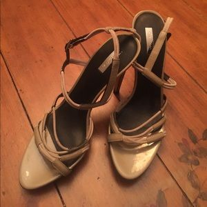 Calvin Klein Collection Patent Leather Heels